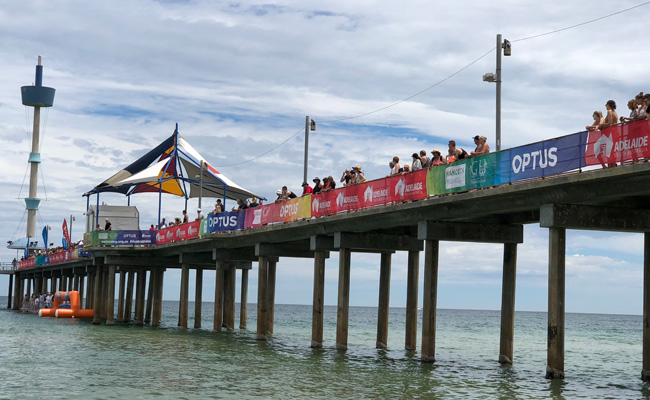 05: Mesh Banner – Open Water Champs