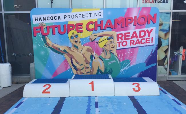 31: Event Signage – Swimming Australia