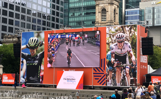 02 Tour Down Under events banners – Nexstage