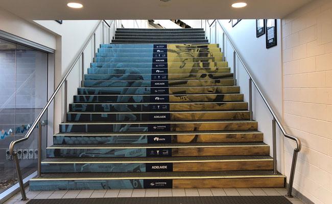 42 Stair Graphics – Swimming Australia