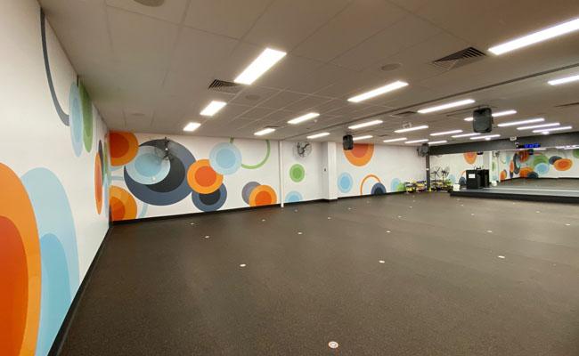 45 Wall Graphics – Fitness Studio