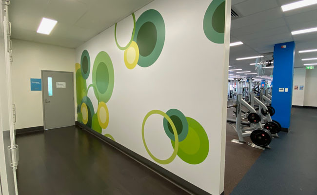 46 Wall Graphics – Group Fitness