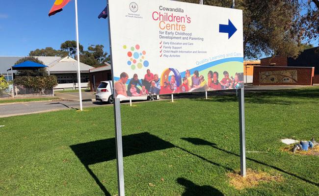 48 Site Signage – Childrens Centre