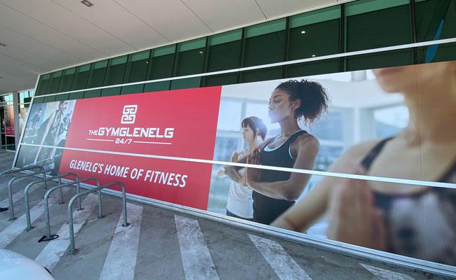 56 Window graphics – The Gym Glenelg