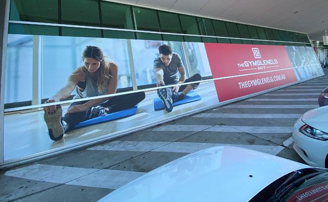 62 Window graphics – The Gym Glenelg
