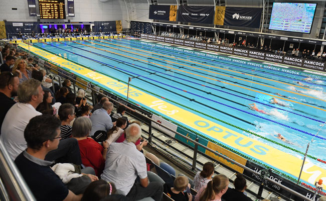 67 Event Signage – Australian Swimming Championships