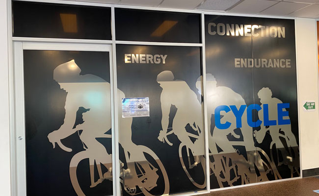 72 Window Graphics – Group Fitness