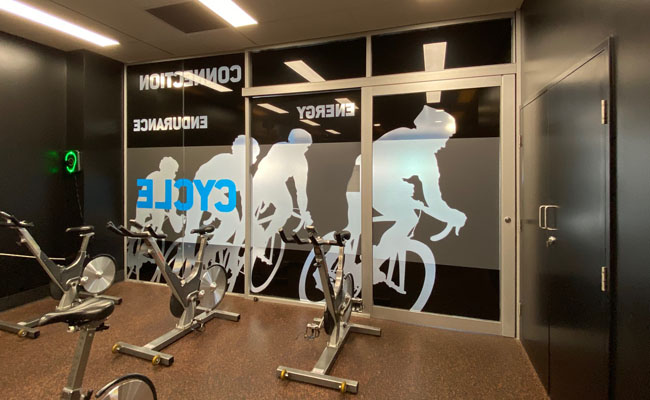 73 Window Graphics – Group Fitness