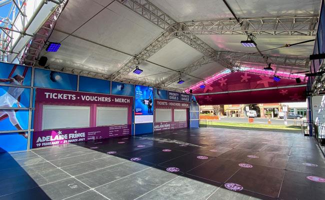 84 – Fringe Inside Event Tent